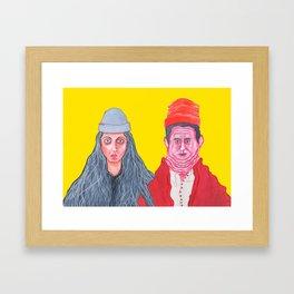 Ethan and Hila H3H3 Framed Art Print