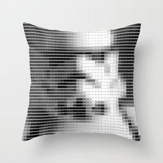 Storm Trooper - StarWars - Pantone Swatch Art Throw Pillow