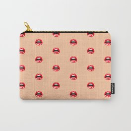 SEXY LIPS ((melon)) Carry-All Pouch