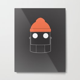 The Iron Zissou Metal Print