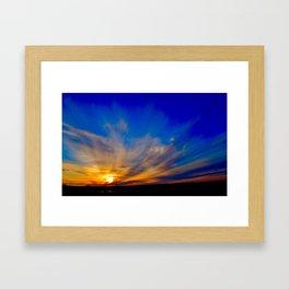 Magnificent Sunset Framed Art Print