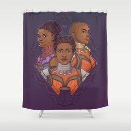 Wakanda Women Shower Curtain