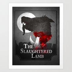 The Slaughtered Lamb Art Print