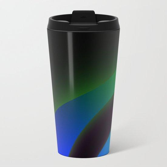Abstract III Metal Travel Mug