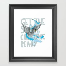 Get the Swan costume ready. Framed Art Print