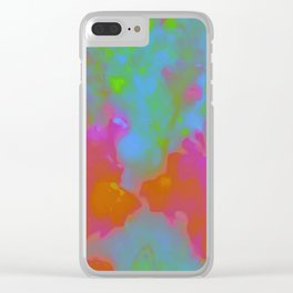 Cool Abstract Clear iPhone Case