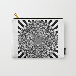 Psycadelic Circle Carry-All Pouch