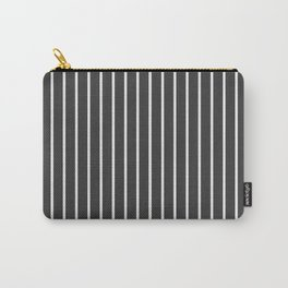 Pinstripe Carry-All Pouch