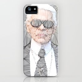 ICONS: Karl Lagerfeld iPhone Case