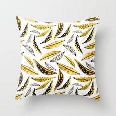 it's bananas! Throw Pillow