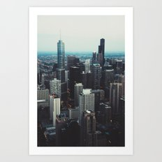 'All the way up!' Art Print