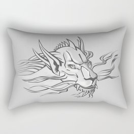 Leo Dragon by Dreamingsenga Rectangular Pillow