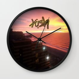 GODS SKY Wall Clock