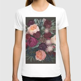 Dark florals T-shirt