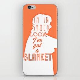Shock iPhone Skin