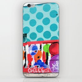 STREET ART iPhone Skin