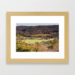 Down In The Valley - Natchez Trace Framed Art Print