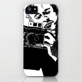 Heaf wiv cam iPhone Case