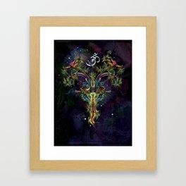 Space Goat Goa - Capricorn Framed Art Print