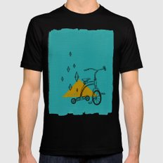 confidant I. (tricycle) Black MEDIUM Mens Fitted Tee