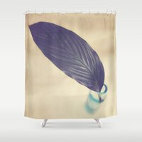 botanical Shower Curtains featuring Botanical by Jessica Torres Photography