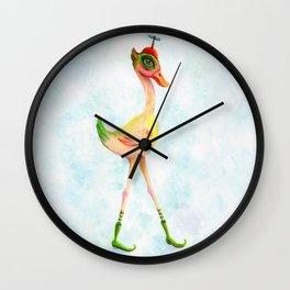 Birdy Longlegs Wall Clock