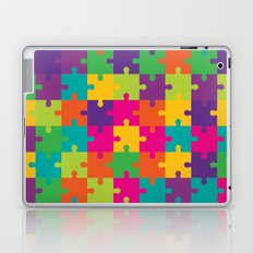 Colorful Jigsaw Puzzle Pattern Laptop & iPad Skin