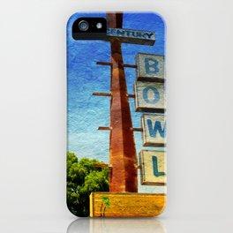 Century Bowl - Merced, CA iPhone Case