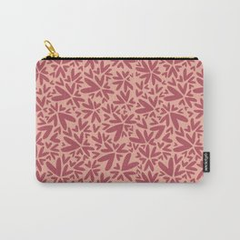 Heart shaped pattern | Pink Carry-All Pouch