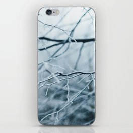 Snowy Winter Trees iPhone Skin