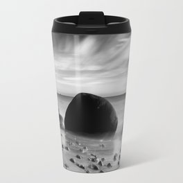 Hidden Bowling Ball Beach Northern California Travel Mug