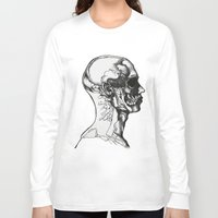 anatomy Long Sleeve T-shirts featuring Anatomy  by Cjillustrations
