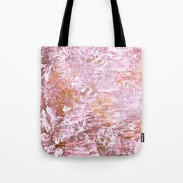 Abstract Autumn In Gold-Rosé Tote Bag