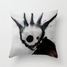 Punk Macabre Throw Pillow
