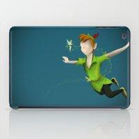 peter pan iPad Cases featuring Peter Pan by JackEmmett