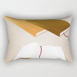 Book collection Rectangular Pillow