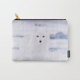 Artic Fox Eyes Carry-All Pouch