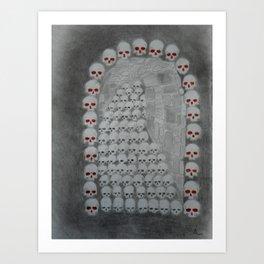 Egress Mortale Art Print