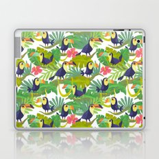 Toucan Paradise Pattern Laptop & iPad Skin