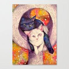 nick & zelda Canvas Print