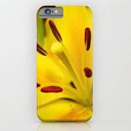 Lillies of the Past iPhone Case