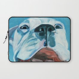 Flaco the Smiling Pup Laptop Sleeve