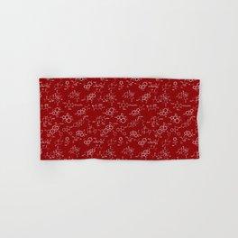 Molecules // Maroon Hand & Bath Towel