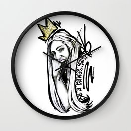 #STUKGIRL MADISEN Wall Clock