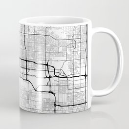 Minimal City Maps - Map Of Phoenix, Arizona, United States Coffee Mug