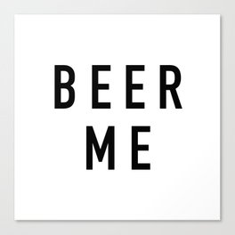Beer Me - The Office Canvas Print