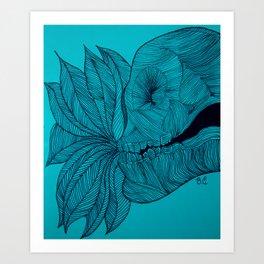 Solo vida Art Print