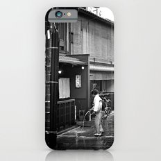 Watering the Streets of Gion, Kyoto iPhone 6s Slim Case