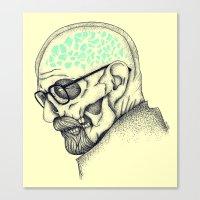 heisenberg Canvas Prints featuring Heisenberg by Mike Koubou