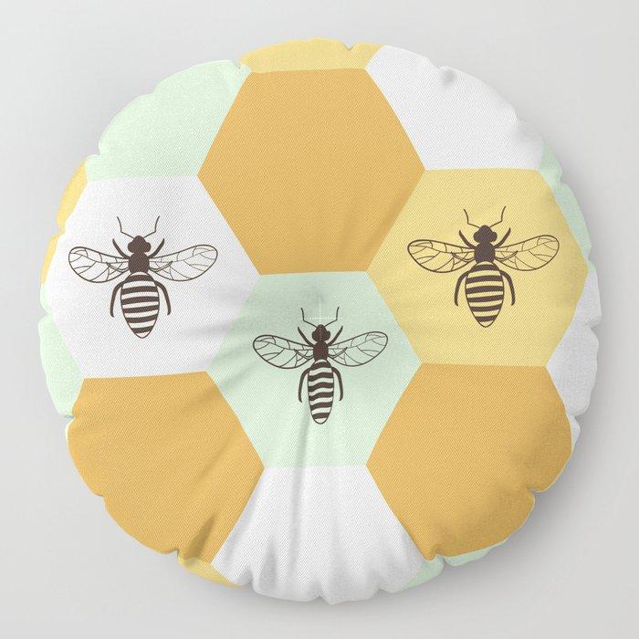 Beehive Floor Pillow